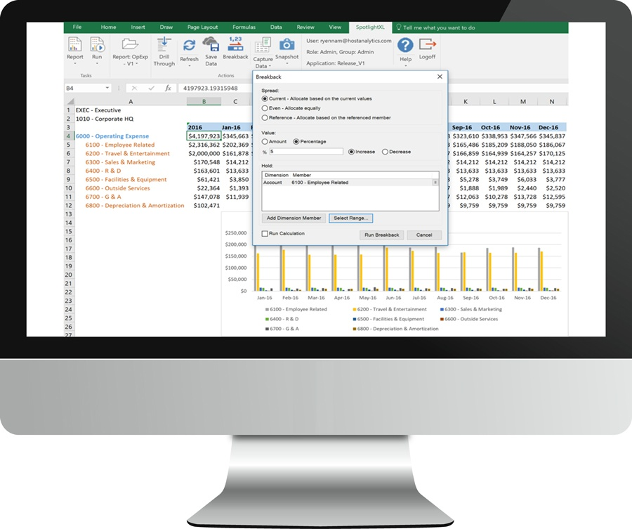 Delighting FP&A Customers with Enhanced Breakback and More Powerful Analytics